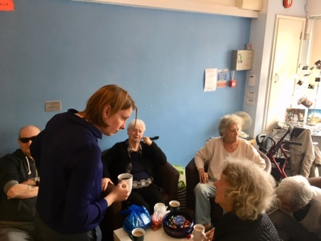 Patron Tracey Crouch MP Walderslade Hub Visit (4)