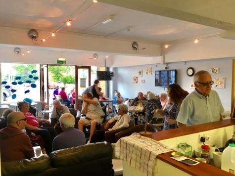 The Net Community Hub Open Cafe