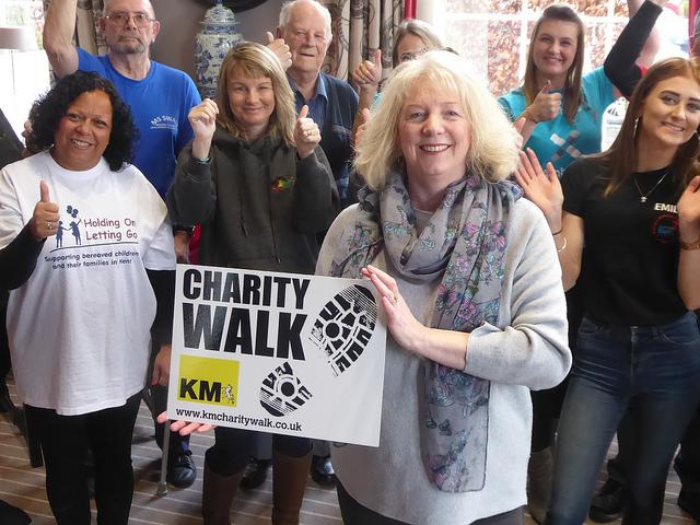 KM Charity Walk
